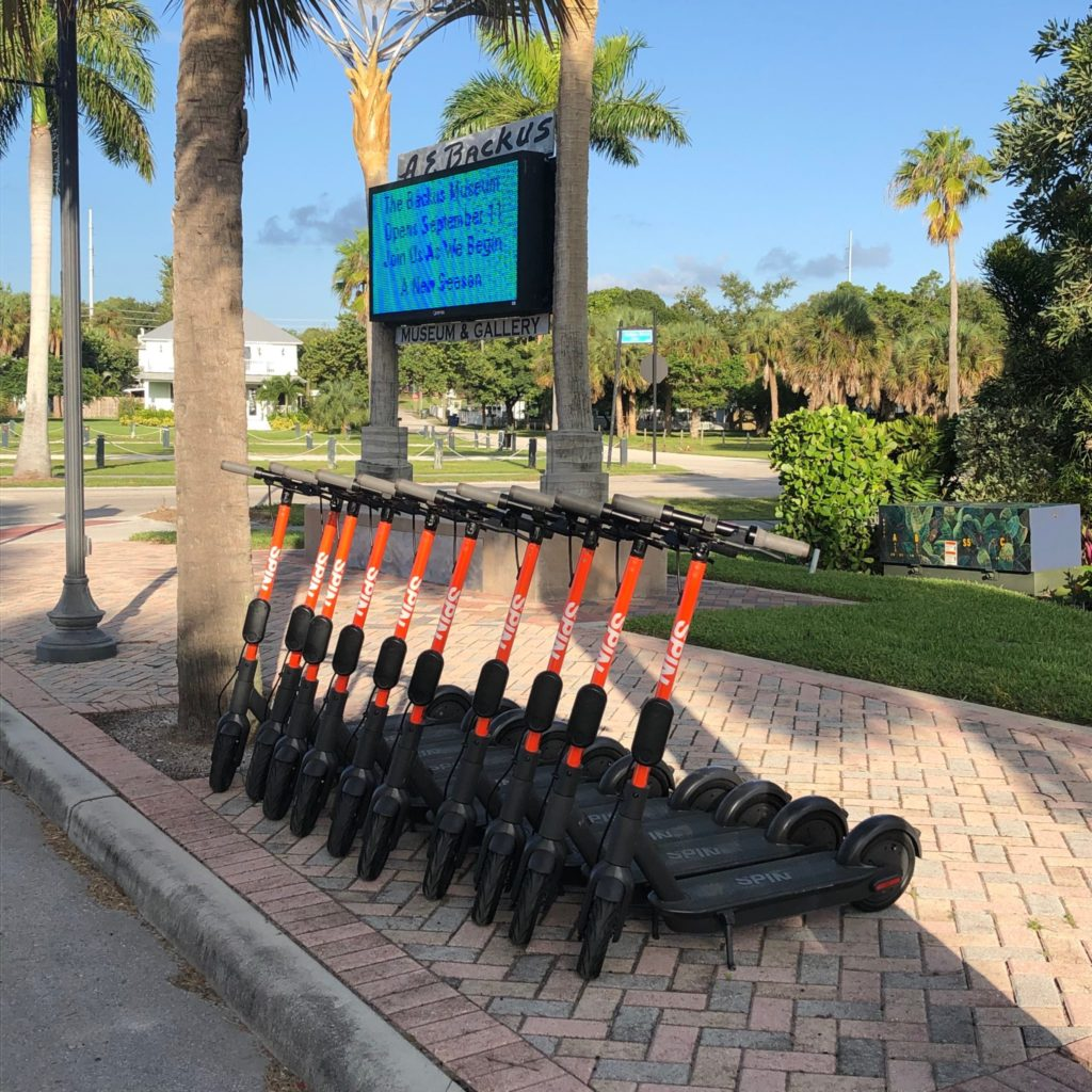 Electric Rental Scooters Come to Fort Pierce!